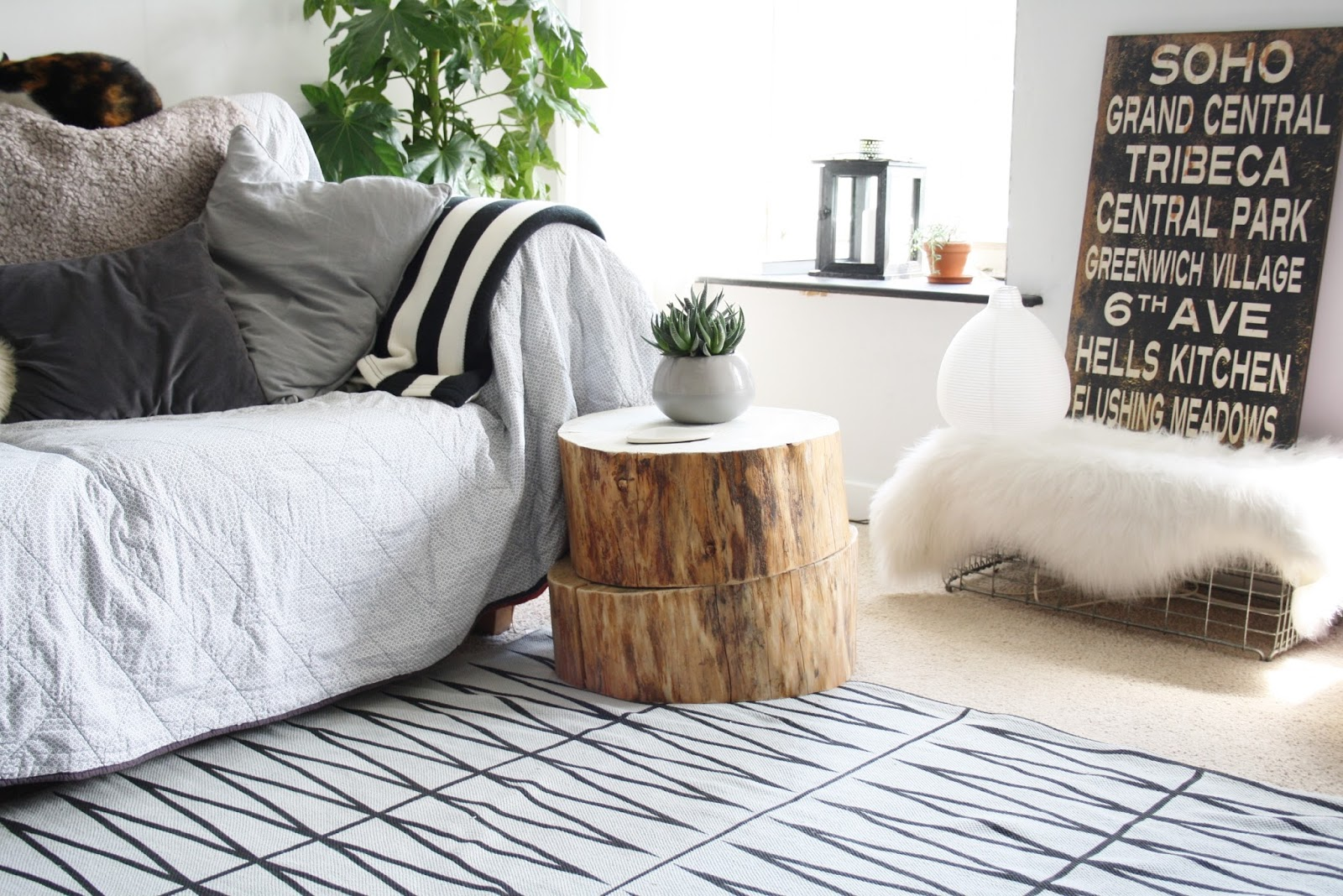 Rustic Side Tables Living Room