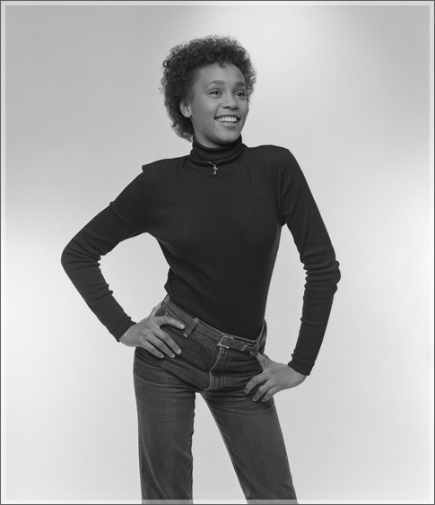 ... To Somewher... Young Whitney Houston