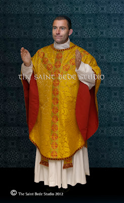 Puginesque chasuble