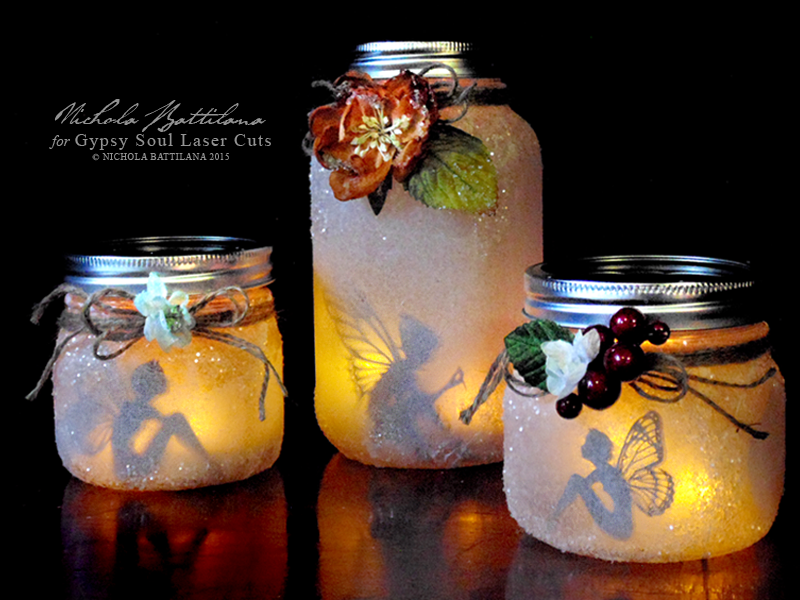 jam jar tea lights diy