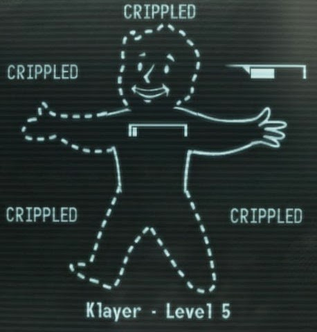 Crippled Pip-Boy Readout