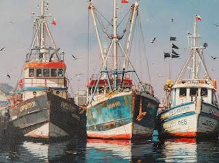 Barcos Paisajes del Mar