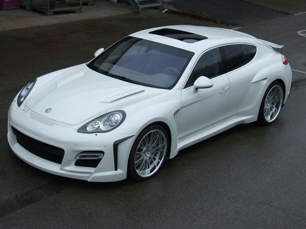 Sports Car Tuned Porsche Panamera