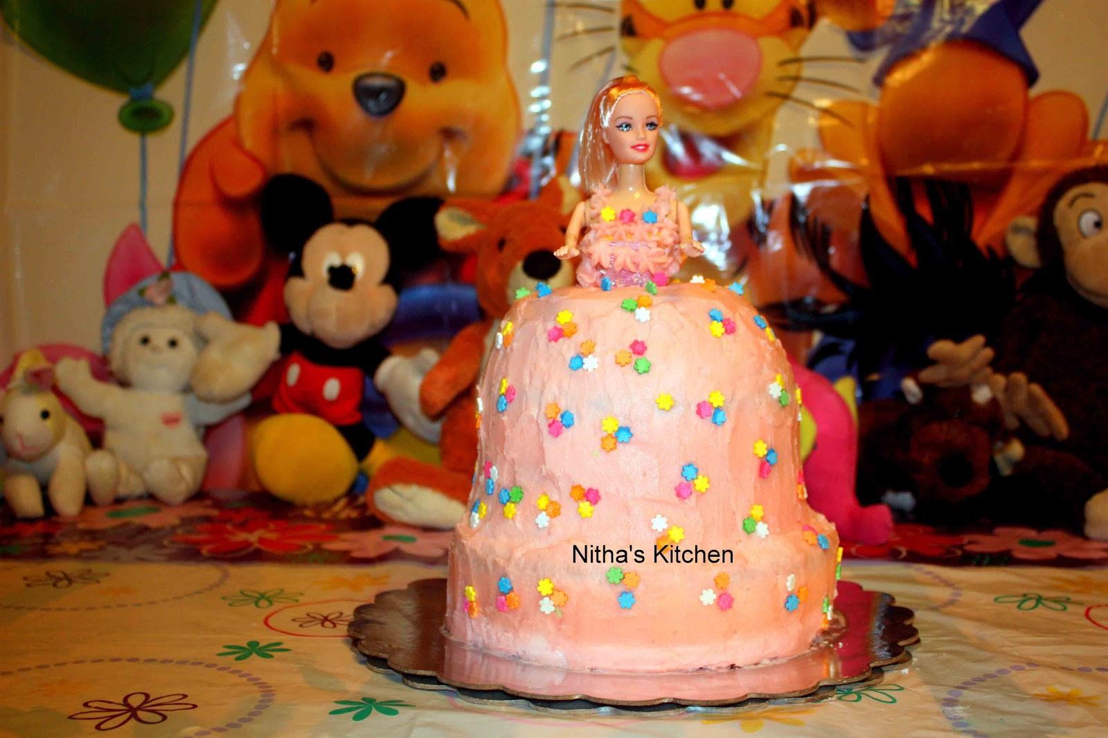 Princess Birthday Cake For My Sweet Princess Complete Tutorial