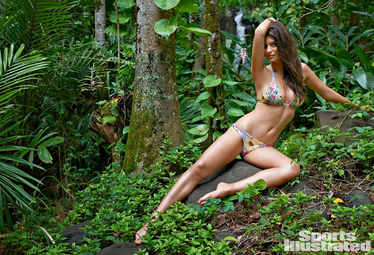 Emily Ratajkowski is seductive for the Sports Illustrated Swim 2015 photoshoot