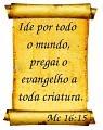 """""""IDE POR TODO O MUNDO,"""