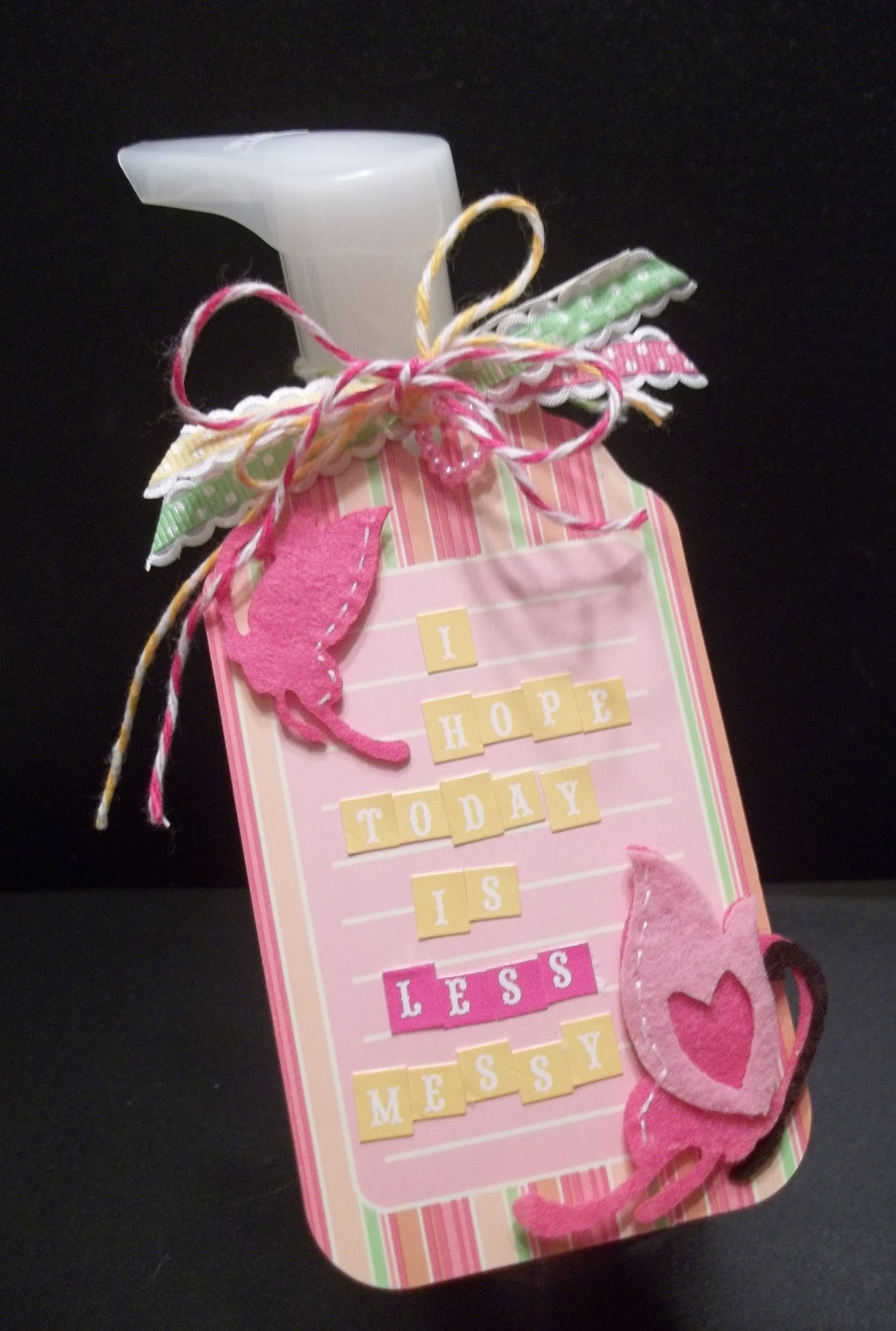 Creative Charms - embellish, enliven, enjoy: Brightening a Teachers Day