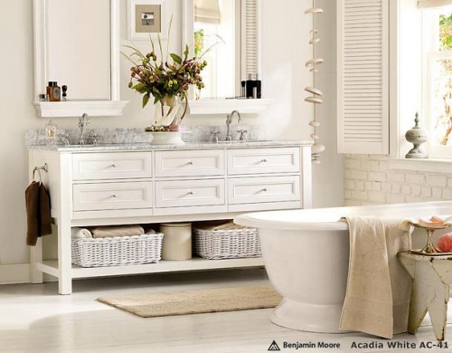 Pure design white on white bathroom ideas modern house for Pure home designs