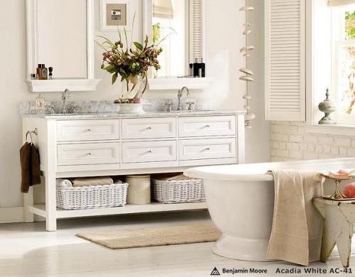 White Bathroom Ideas Delectable With White Bathroom Design Ideas Photo