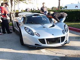 Car Name : Hennessey Venom GT Spyder