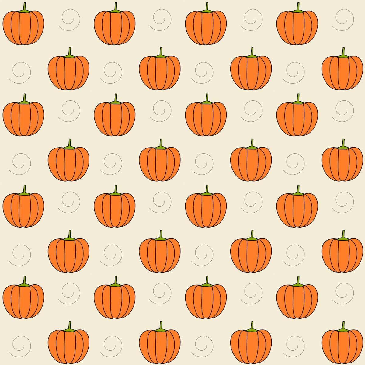 Free digital pumpkin scrapbooking paper ausdruckbares