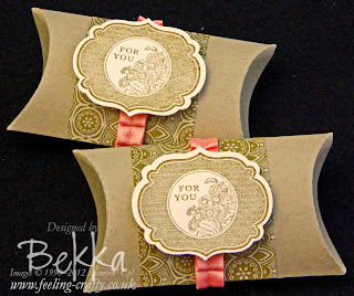Apothecary Art Pillow Box for joining Stampin' Up!