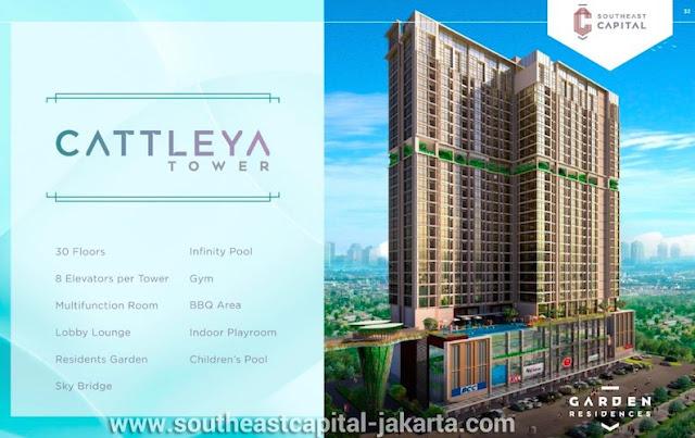 Cattleya Tower Apartment Southeast Capital Jakarta