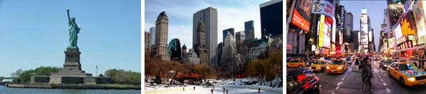 Casamento - viagem internacional de lua-de-mel - EUA - Nova York