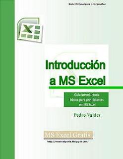 Introducción a MS Excel Libro Gratis