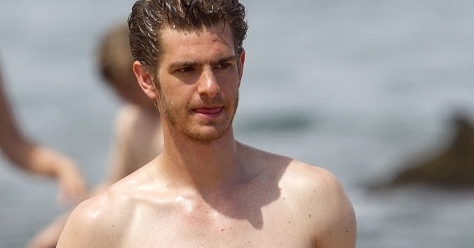 The Stars Come Out To Play: Andrew Garfield - Shirtless