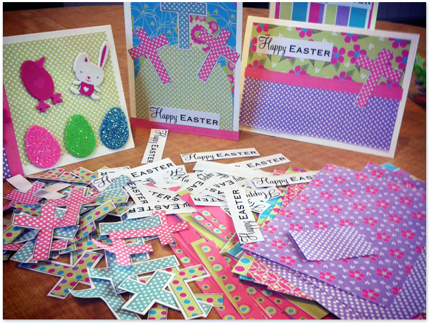 Diane Rooney Designs Happy Card Making Easter – Easter Card Making Kits