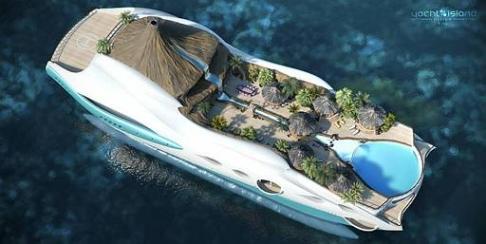 Modernste yacht der welt  Zukunfts-Aussichten. Die modernsten Luxus-Yachten der Welt | Hot ...