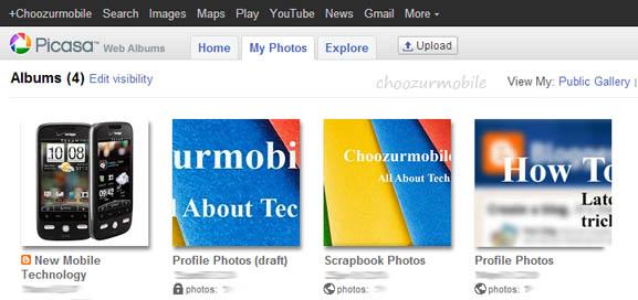 Google Picasa Web Albums
