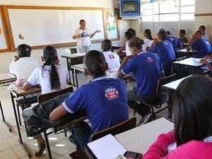Escola estadual (Foto: Secretaria de Educação da Bahia/Divulgação)