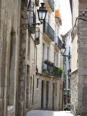 Carrer de la Força inside El Call jueu of Girona