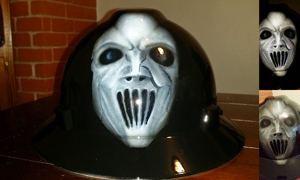 SLIPKNOT hard hat