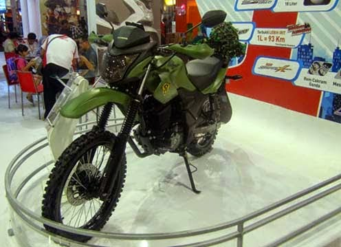 Modifikasi Motor Honda Verza 150 Army