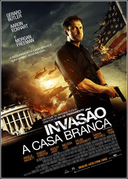 Download - Invasão à Casa Branca – BDRip AVI Dual Áudio + RMVB Dublado ( 2013 )