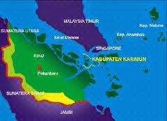 Peta Kabupaten Karimun