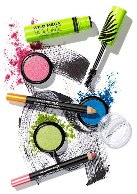 Max Factor bright make-up collection