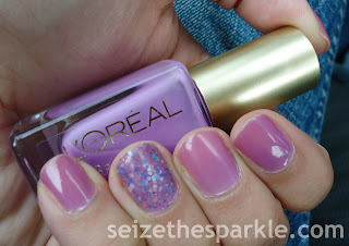 L'Oreal Lilac Coolers Layering
