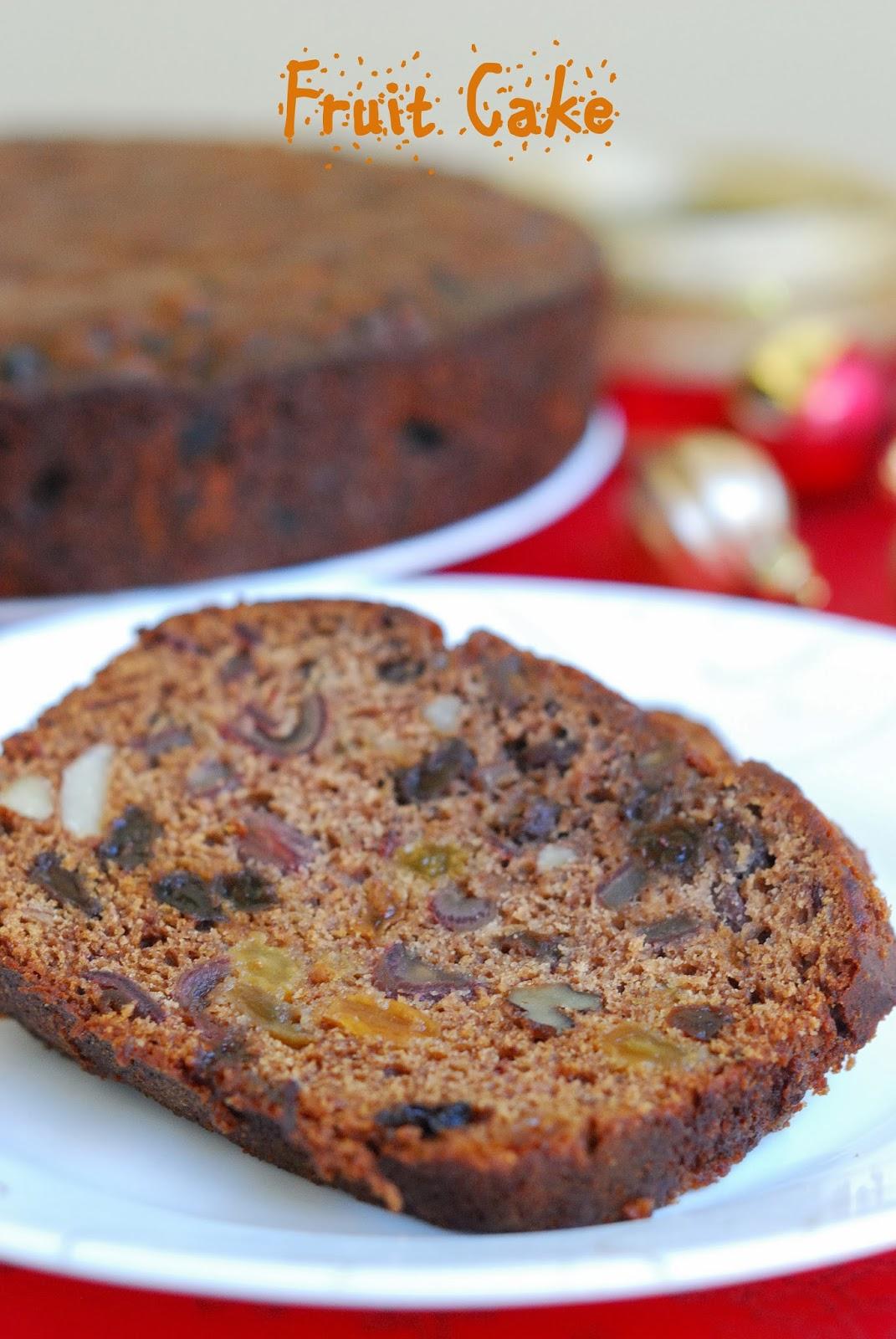 Christmas cake no alcohol recipe