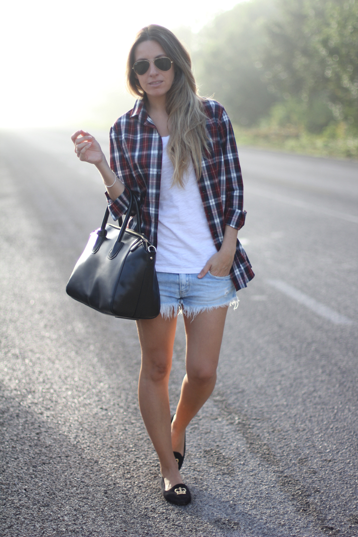 Outfit casual Mes Voyages à Paris fashion blog low cost