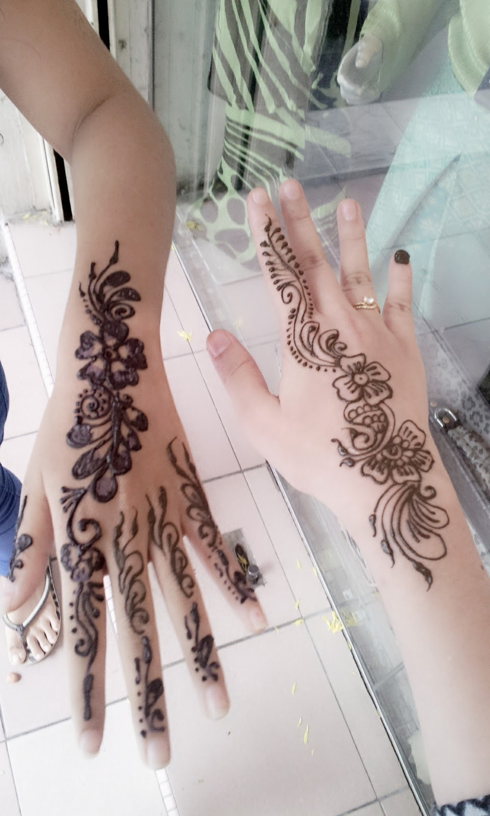 About Shima Mazlan Try Henna