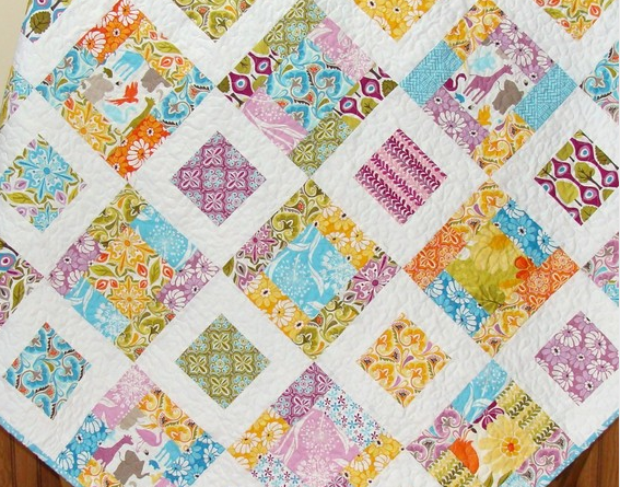 Quilt Patterns With 6 Inch Squares : Leah s Stuff: My Scrap Quilting Obsession
