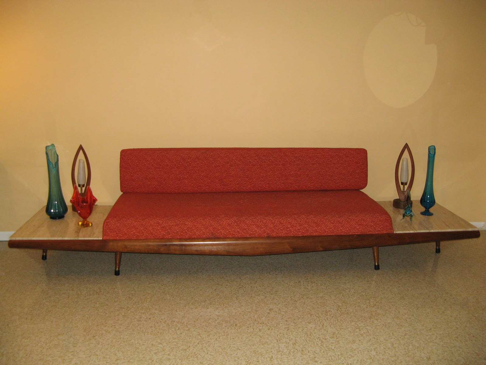 Adrian Pearsall For Crafts Associates Gondola Couch/Sofa...Classy. SOLD IN  ONE DAY!