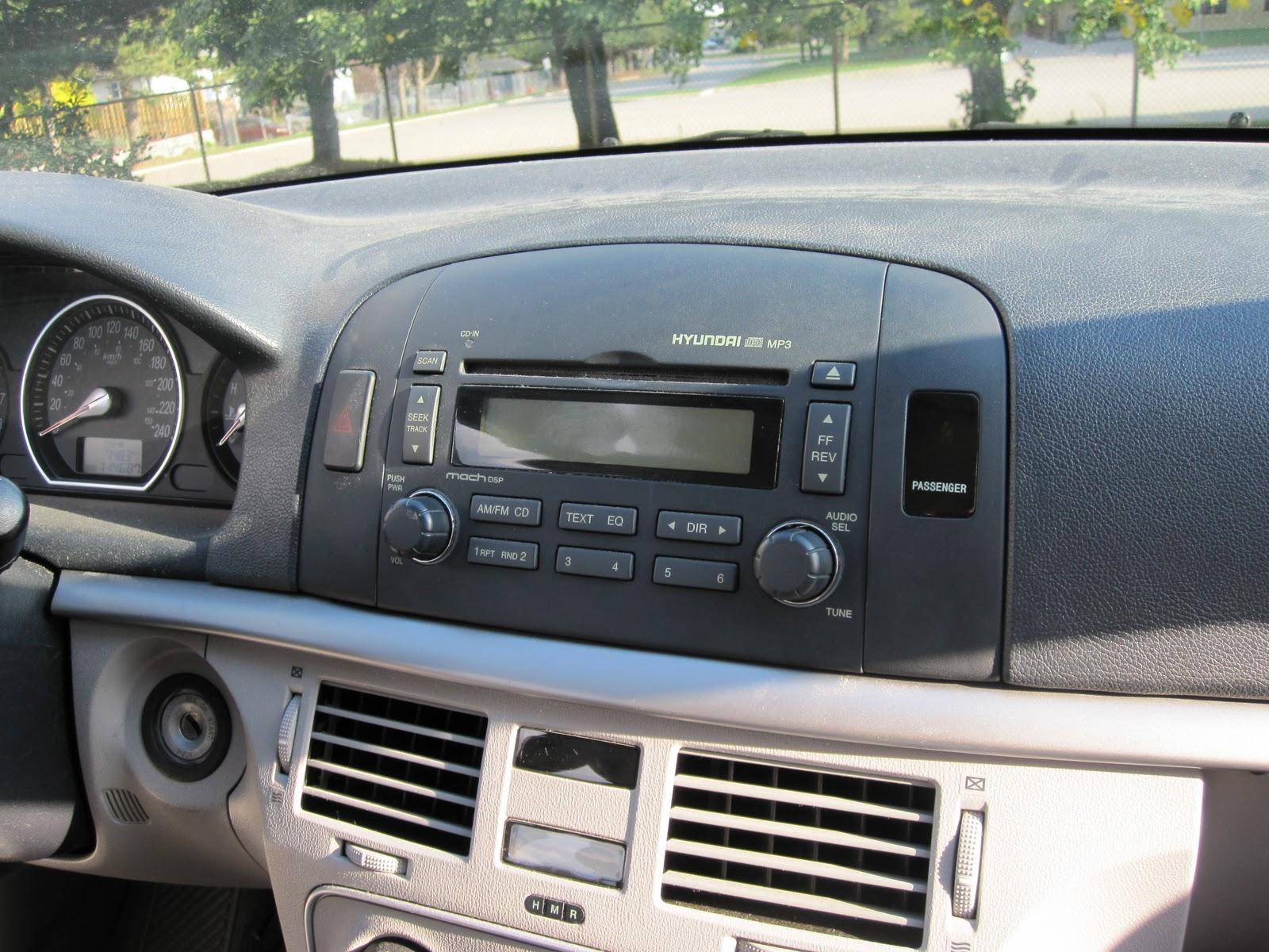 2007 Hyundai Sonata Aux Input