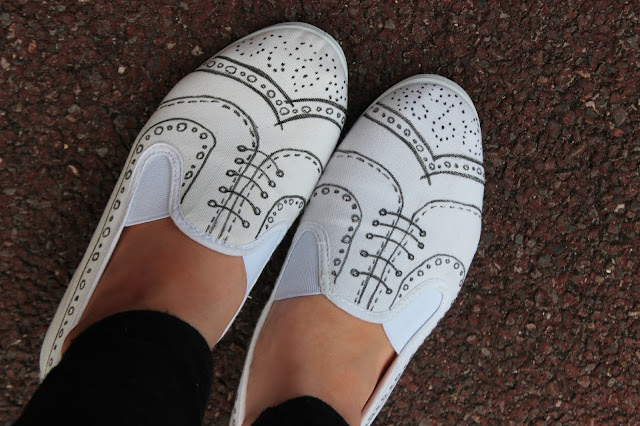 trompe l'oeil shoes