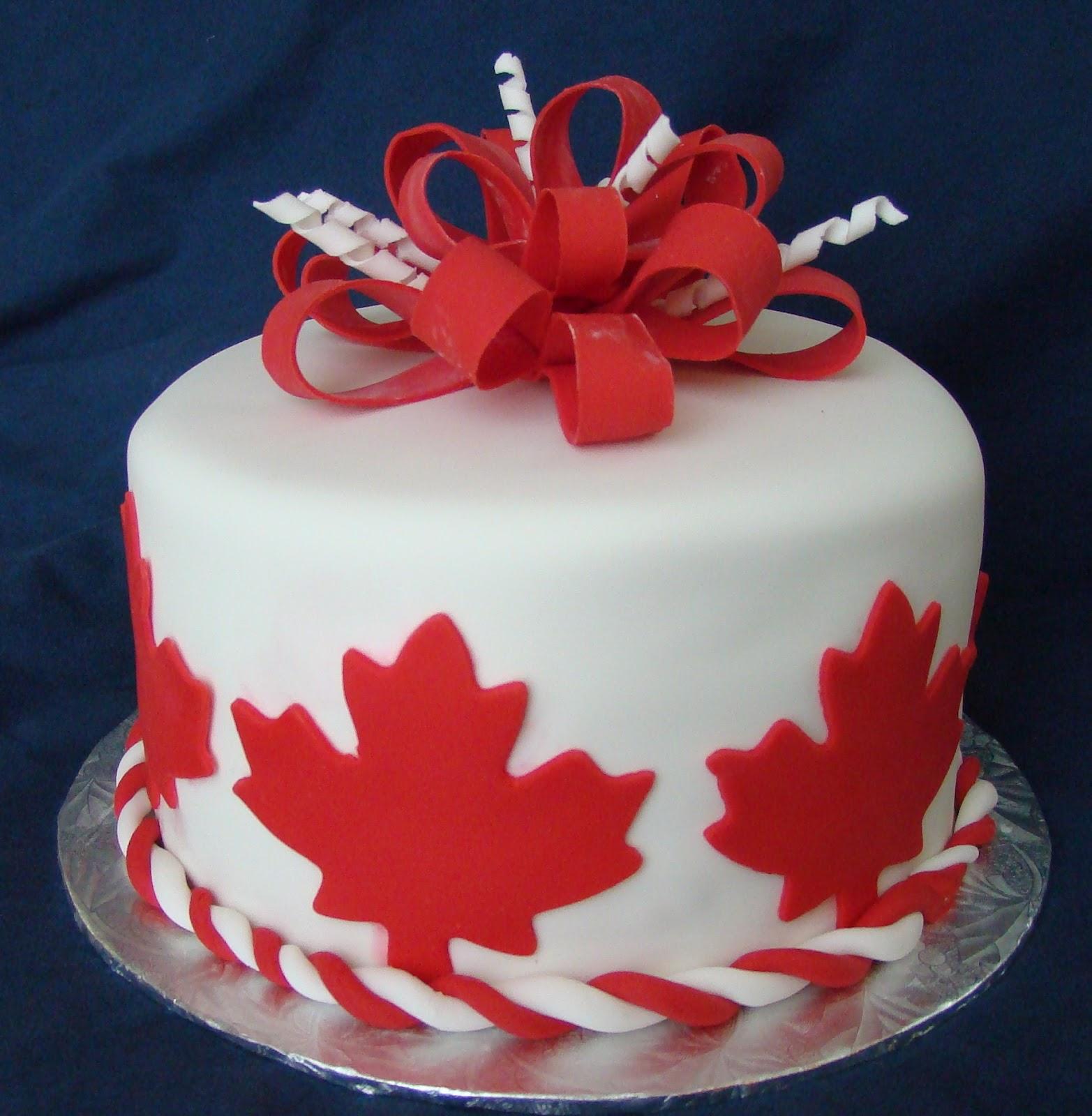 Martha's Cake Creations: Happy Birthday Canada