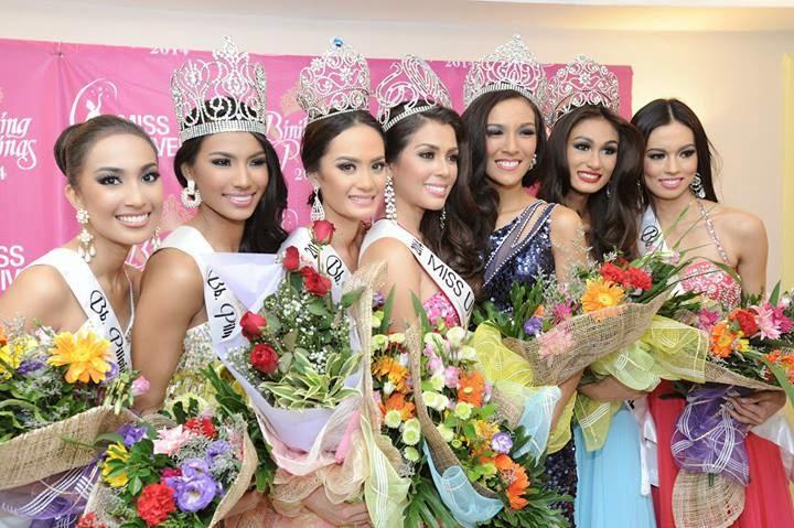 Binibining Pilipinas 2014 Winners