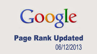 pagerank updated 6/12/2013  (december 2013)