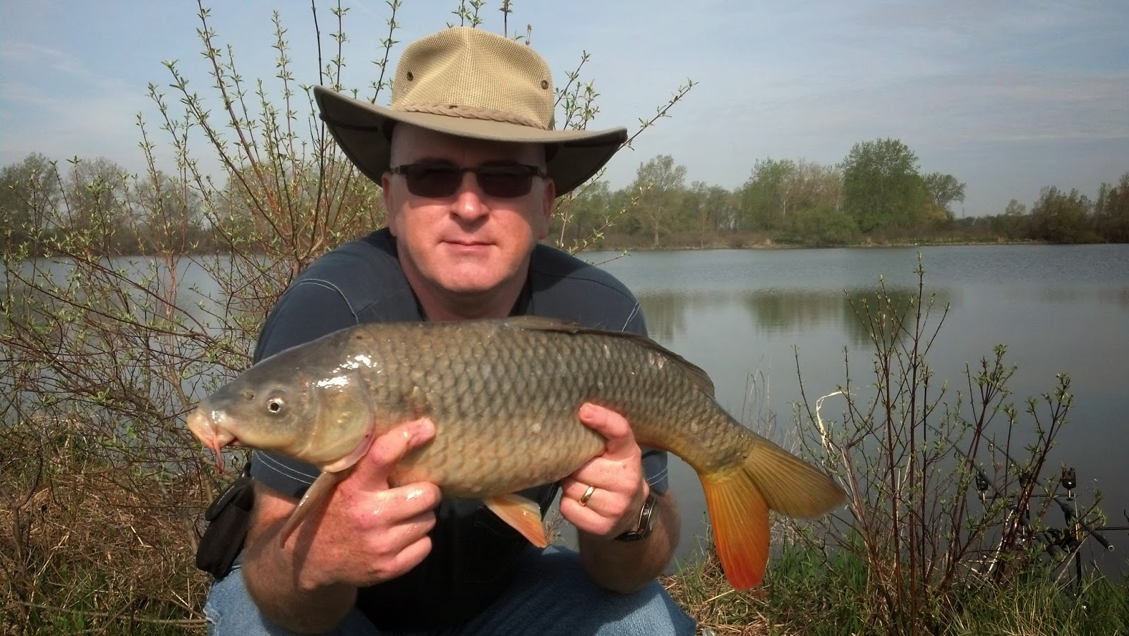 Michigan carp fishing blog april 2015 for Can you eat carp fish