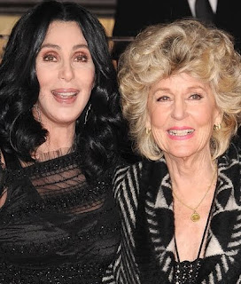 Cher and her mother Georgia Holt