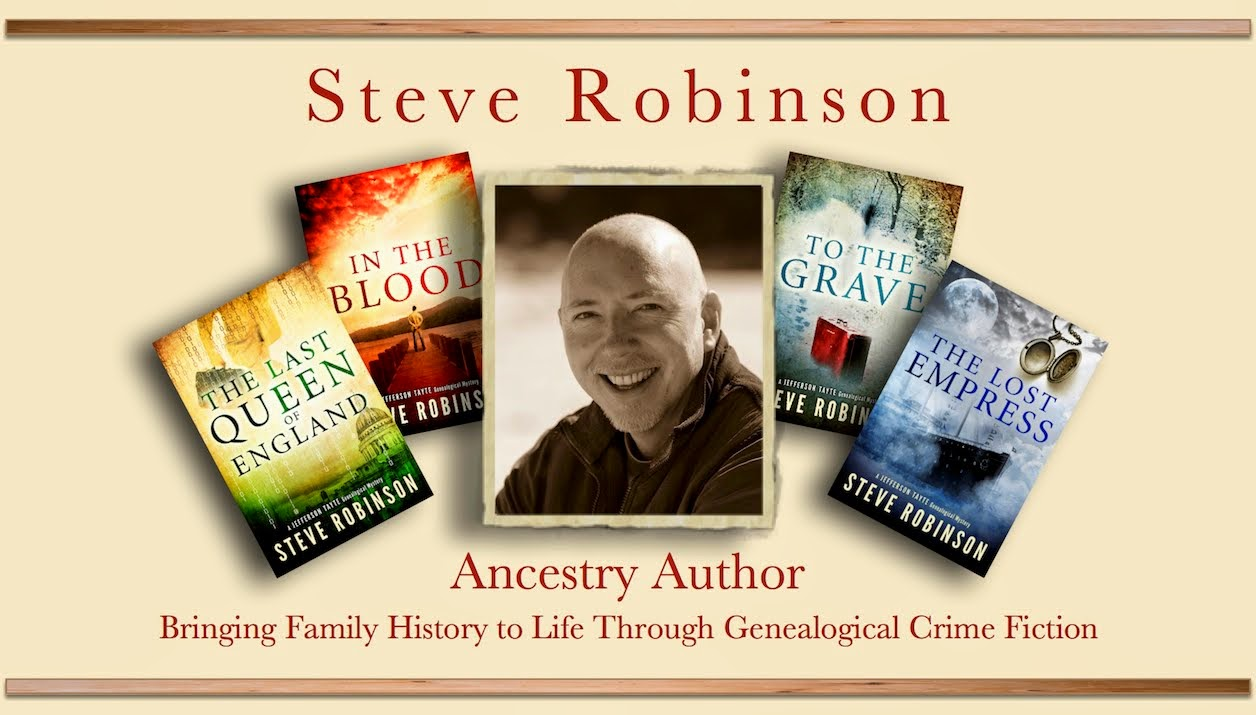 Steve Robinson - Ancestry Author
