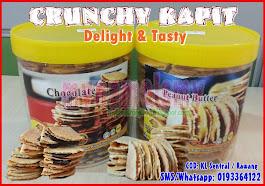 Pengedar Crunchy Kapit Sedap!