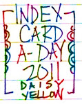 Index Card A Day