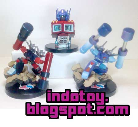 Jual  Action Figure Transformer Diorama isi 3