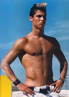 Cristiano Ronaldo Topless