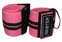 Style Athletics Holiday Gift Guide for Athletes Athletic Girls Meister Wrist Wraps Pink