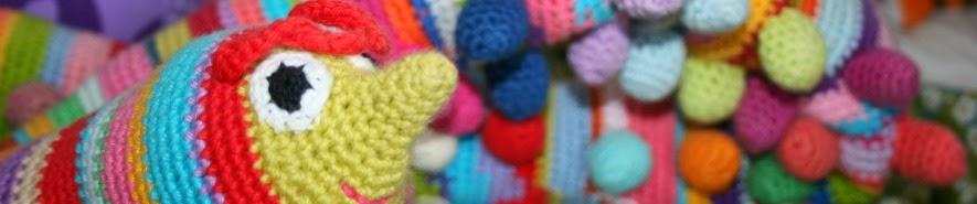 http://pralerier.blogspot.dk/2011/10/hklet-tusindben-diy.html